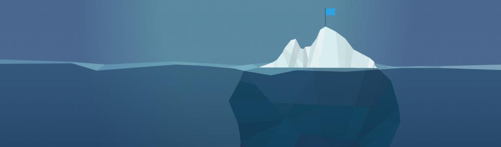 کوه یخی UX